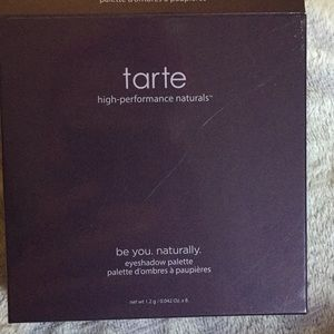 Tarts be you. Be natural eyeshadow palette